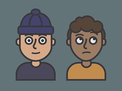 Character Design - Boys character design