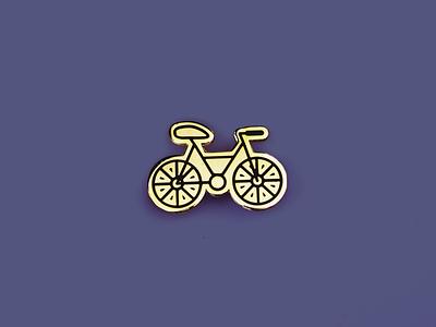 Bicycle enamel pin enamel pin bicycle bike