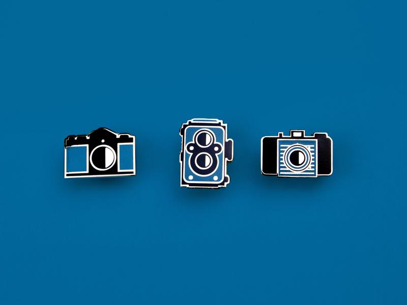 Film Camera Enamel pins by Carli Fronius on Dribbble