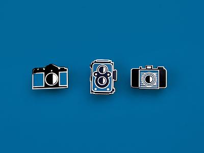 Film Camera Enamel pins film enamel pin camera