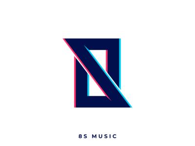 8S Music Logo idenity brand minimal music design branding logo design logo graphic design adobe illustrator