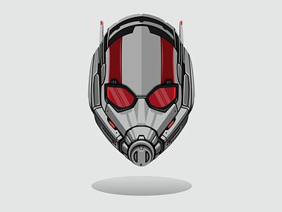 Antman graphic design illustrator illustration design line art marvelcomics marvel vector art vector antman endgame avengers