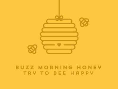 Buzz Morning bee buzz honey morning