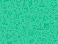 Gnomo small shopping bag pattern