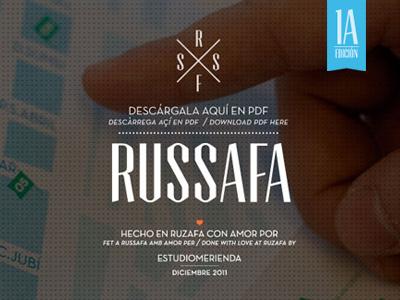 Russafa Guide web web guide design code