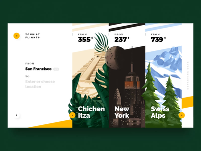 Transition test trinetix maya pyramid travel ux suggestions transition white clean typography globe after affects jungle ui interface flight booking trip gif animation