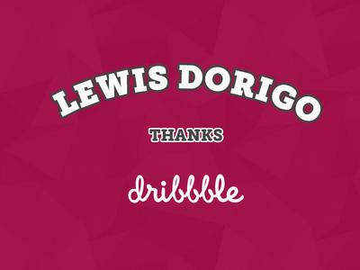 Thank you lewis