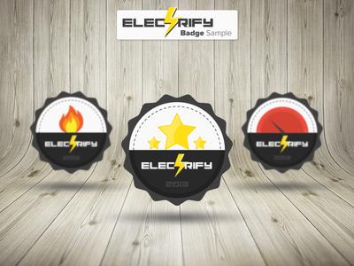 Electrify Badge