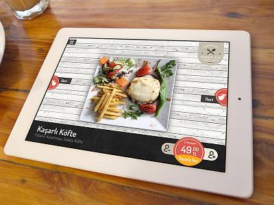 Interactive restaurant app ipad ux ui interactive restaurant app