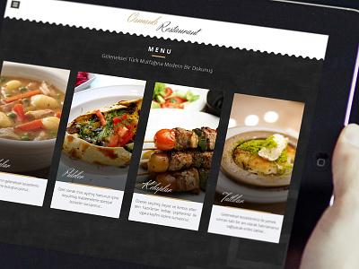 Interactive restaurant app V2 ui app ux interactive ipad restaurant