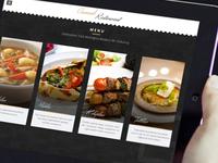 Interactive restaurant app V2