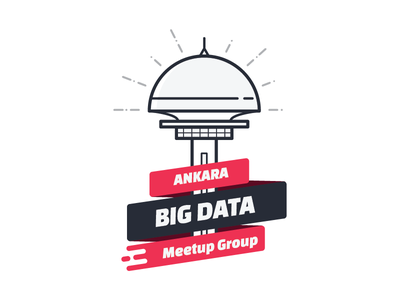 Ankara Big Data Meetup Group atakule badge sticker logo group meetup data big ankara