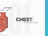 01 Taekwondo Chest Protector