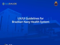 UX/UI Guidelines for Brazilian Navy Health System