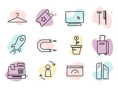 eCommerce Icons icon illustration