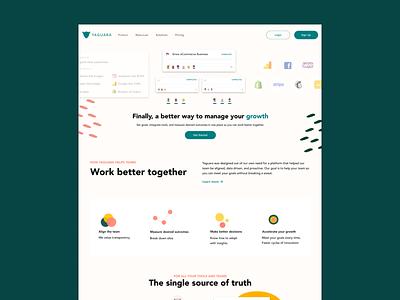Landing Page design web ui