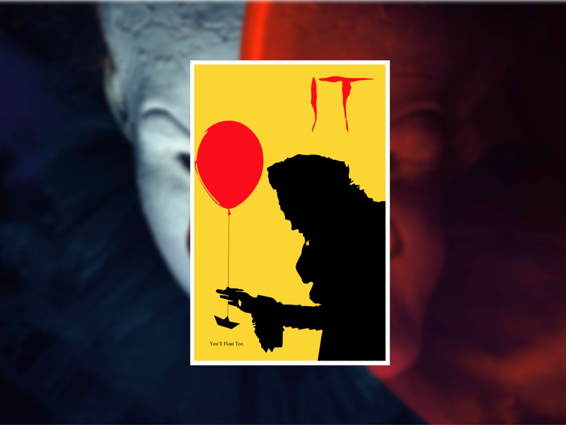 It Minimalist Poster By Jonathan Carrillo Dribbble Dribbble