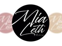 Mia Leth Makeup - Branding/Logo