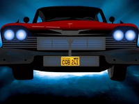 Christine | Horror Movie Car Vector