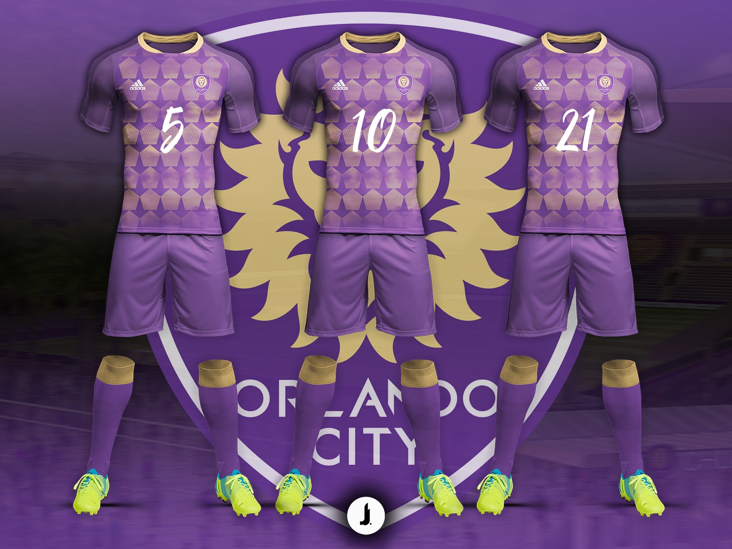 outlet store e569a c5f2e Orlando City Soccer Club   Home Jersey Concept by Jonathan ...