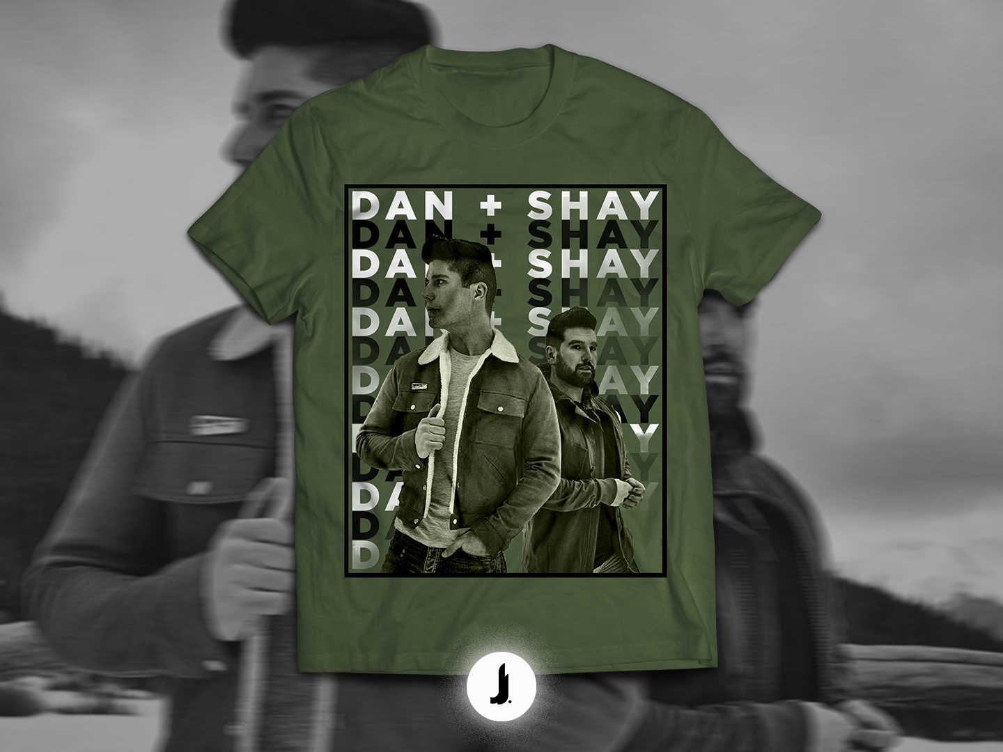 """Shay /""""Country Music/"""" Personalized T-shirts Dan"""