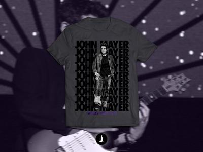 John Mayer | World Tour 2019 Concept T-Shirt