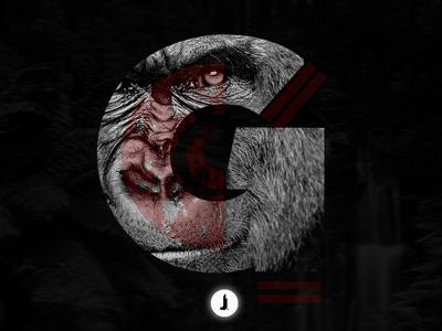 """G"" Gorilla | 36 Days of Type"