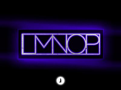 """LMNOP"" Alphabet Catchup | 36 Days of Type"