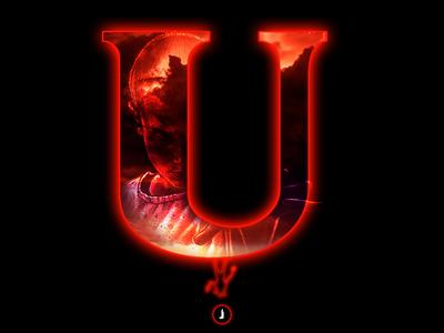 """U"" Upside Down | 36 Days of Type"
