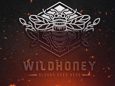 Wild Honey Logo Template