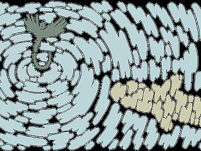 Ripple vector illustration