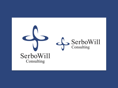SerboWill Consulting, Inc. design logo