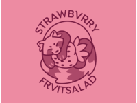 Strawbvrry/FrvitSalad Logo