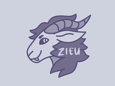 Zieu Logo design vector illustrator graphic design