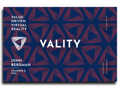 Businesscards for Vality