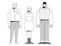 Characters for a project