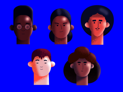 Character heads!