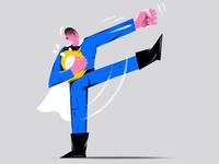 F -fist. One Punch-Man
