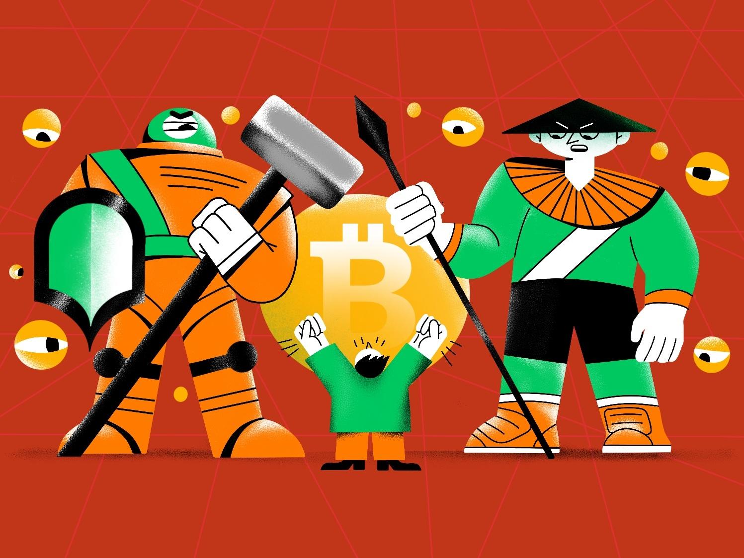 exchange blocks access illustration illustraion cryptocurrency crypto access bitcoin blockchain block exchange