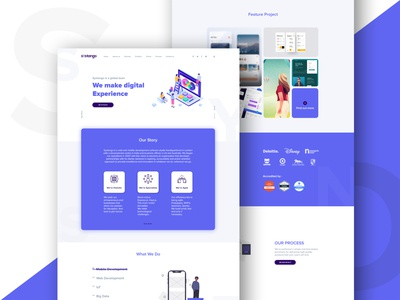 Systango Landing page
