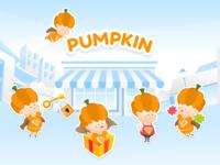 Pumpkin Character Design