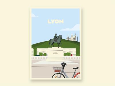 Place Bellecour - Lyon (France)