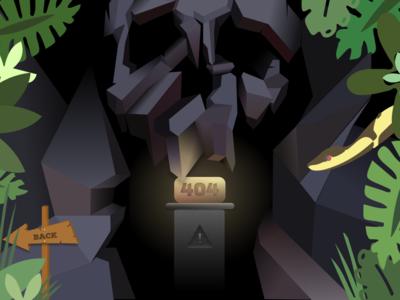 Lost 404 Treasure