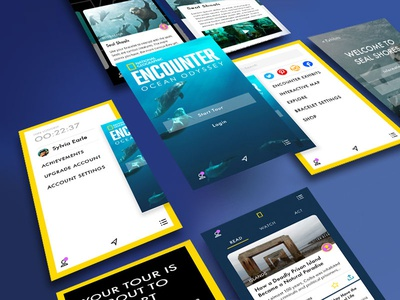 Nat Geo Encounter Ocean Odyssey Concept App