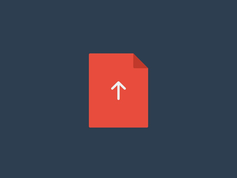Submit your resource upload file icon flat submit free freebie