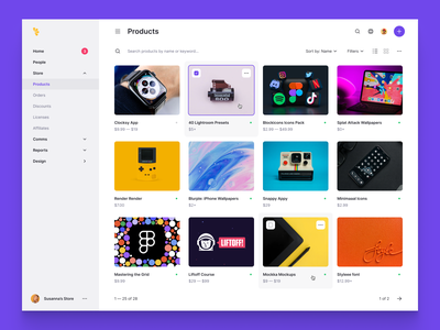 Product Tiles products product darkmode dark theme dark mode dark app dark ui dark ecommerce design ecommerce app ecommerce minimalistic minimalism minimalist minimal clean design clean ui clean grid