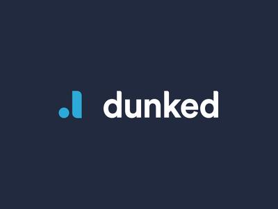 Dunked Rebrand dunked branding logo ll circular