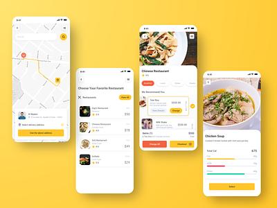 Fitfood fitness food app ui mobile app