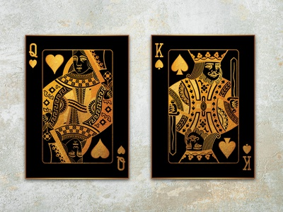 Poker Cards Canvas photo manipulation photo editing canvas art poker cards photoshop