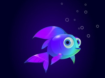 Fish Character tutorial fish graphic tablet drawing draw illustration vector design adobe illustrator